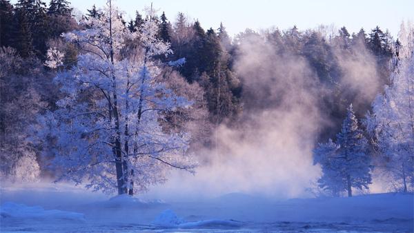 Winter at Finland by Rebekka85