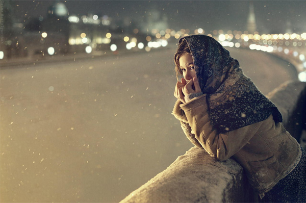winter's Tale in Moscow by Irina Mastalyarchuk